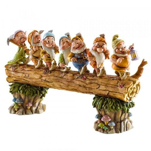 Disney Traditions Homeward Bound Seven Dwarfs Figurine