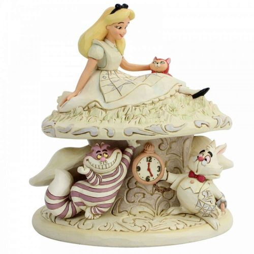 Disney Traditions Whimsy and Wonder Alice in Wonderland Figurine