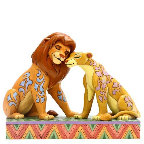 Disney Traditions Savannah Sweethearts Simba and Nala Figurine