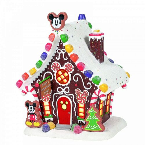 Disney Village By D56 Mickey Mouse Gingerbread House UK