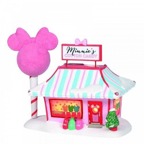 Disney Village By D56 Minnie's Cotton Candy Shop