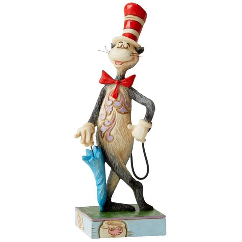 Dr Seuss by Jim Shore The Cat in the Hat with Umbrella