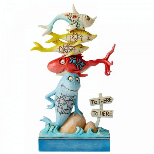 Dr Seuss by Jim Shore One Fish, Two Fish, Red Fish, Blue Fish