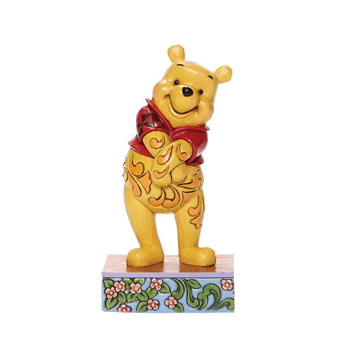 Disney Traditions Beloved Bear Winnie the Pooh Personality Pose Figurine