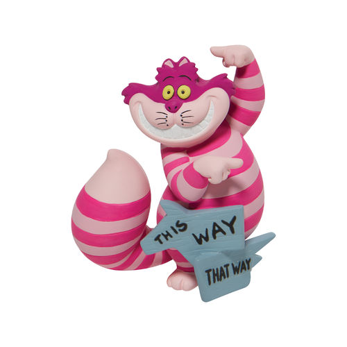 Disney Showcase Collection This Way Cheshire Cat Figurine