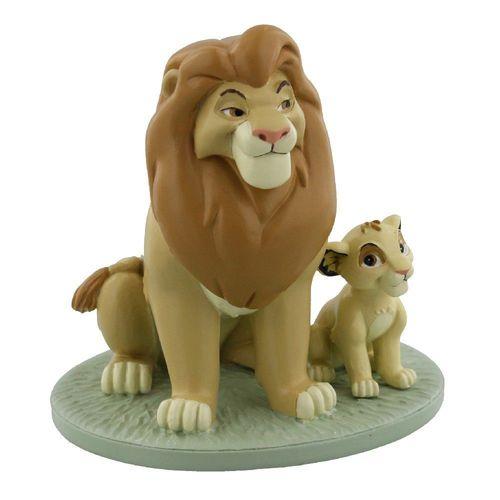 Disney Magical Moments Mufasa and Simba Figurine