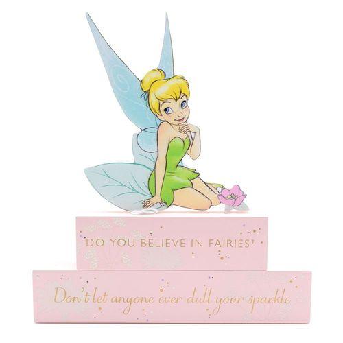 Disney Tinkerbell Disney Tinkerbell Wooden Block Plaque
