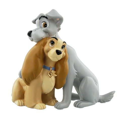 Disney Magical Moments Lady and the Tramp Figurine