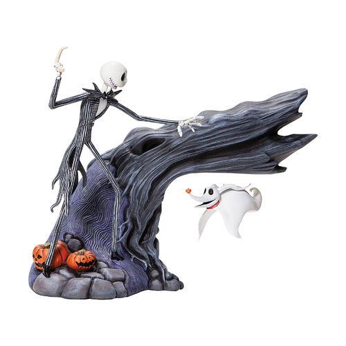 Grand Jester Studios Jack & Zero Levitating Masterpiece Figurine