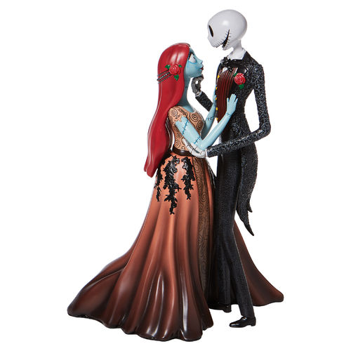 Disney Showcase Collection Jack and Sally Love Couture de Force Figurine