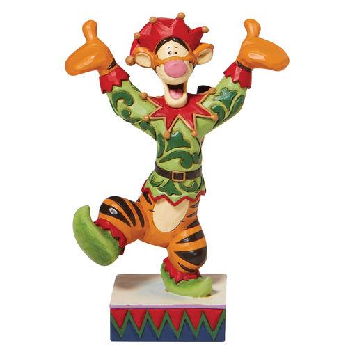 Disney Traditions Ecstatic Elf Tigger Elf Figurine