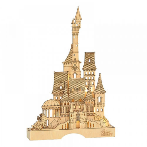 Disney By Department 56 Beauty and the Beast Illuminated Castle