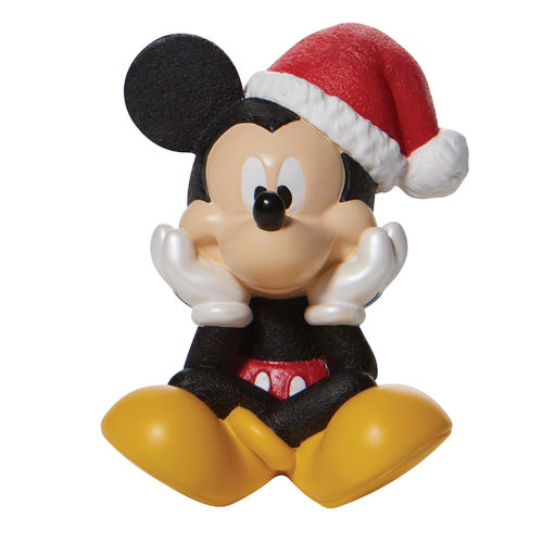 Disney By Department 56 Christmas Mickey Mouse Figurine