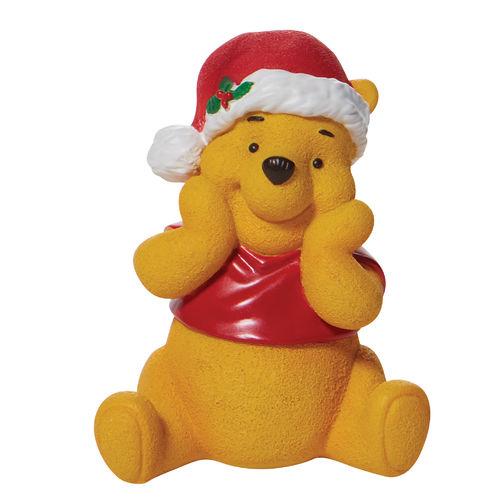 Disney By Department 56 Christmas Winnie the Pooh Figurine
