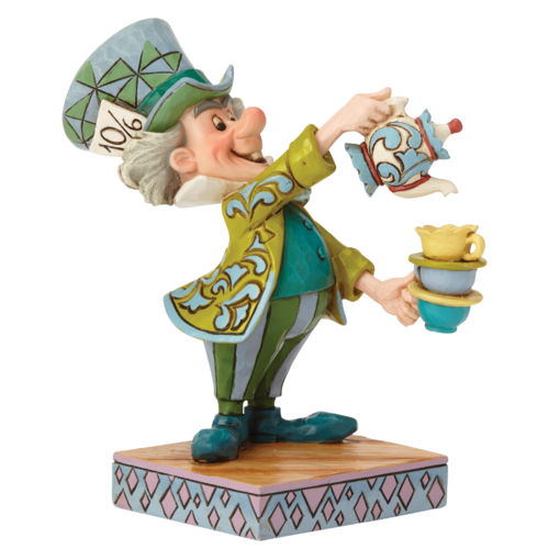 Disney Traditions A Spot of Tea Mad Hatter Figurine