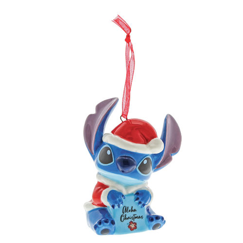 Enchanting Disney Collection Stitch Hanging Ornament