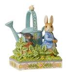 Beatrix Potter By Jim Shore Caught in Mr McGregors Garden Peter Rabbit Figurine