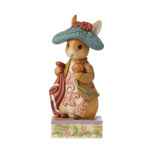 Beatrix Potter By Jim Shore Nibble Nibble Crunch Benjamin Bunny Figurine